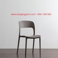 Ghế nhựa có tựa lưng cao giá rẻ