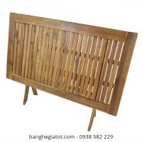 bàn gỗ xếp cao