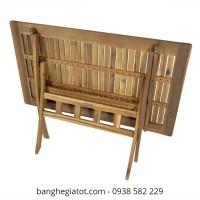 bàn gỗ xếp thông minh