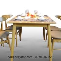 ghế gỗ bàn ăn