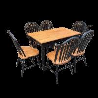 Bộ bàn ghế gỗ phòng ăn