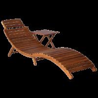 Ghế tắm nắng Gỗ 03