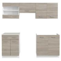 Tủ bếp gỗ công nghiệp 01