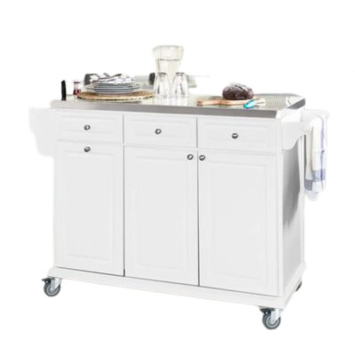 Tủ bếp kết hợp xe đẩy thông minh