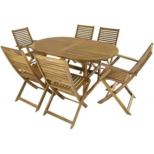 Bộ bàn ghế gỗ 09