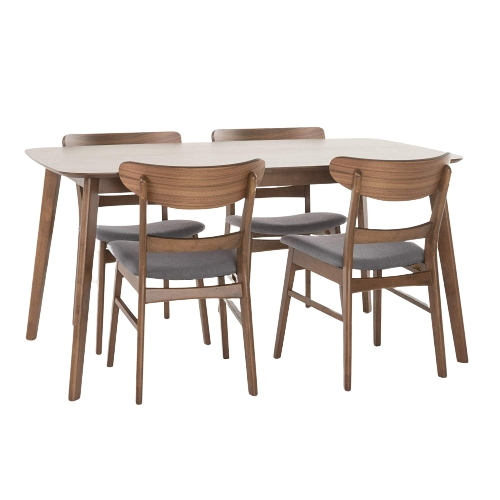 Bộ bàn ghế gỗ  Óc Chó  02