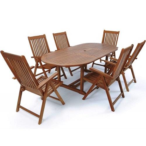 Bộ bàn ghế gỗ Bạch Đàn