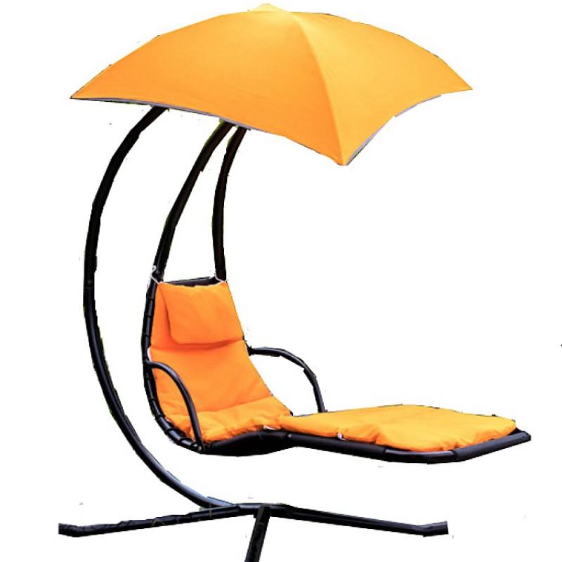 Xích đu tắm nắng màu cam  01